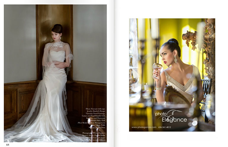 True Elegance is Novelty Bride Magazine Editorial photographed by Photo Elegance