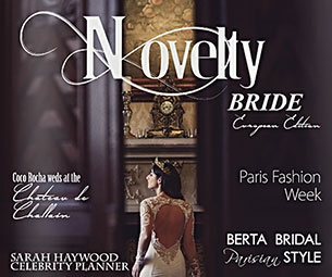 Novelty Bride Magazin Editorial Photographed by Photo Elegance