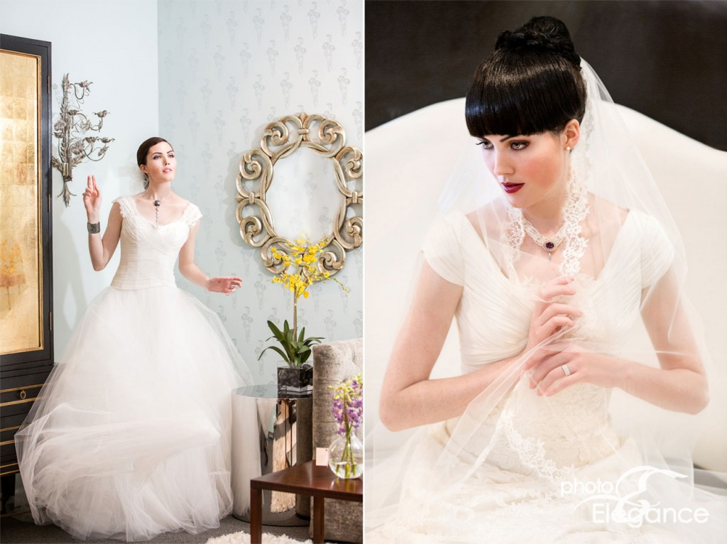 St Louis bride magazine fashion editorial by photo elegance